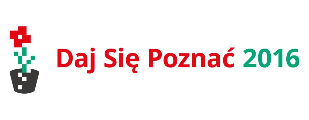 Daj Sie Poznac 2016 logo