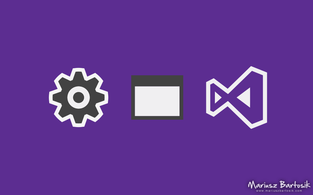 Project setup in Visual Studio