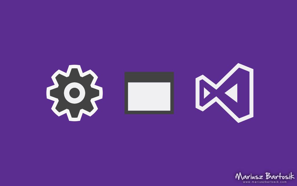 Project setup in Visual Studio