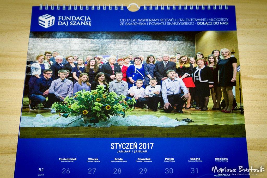 Daj Szansę Calendar 2017 January