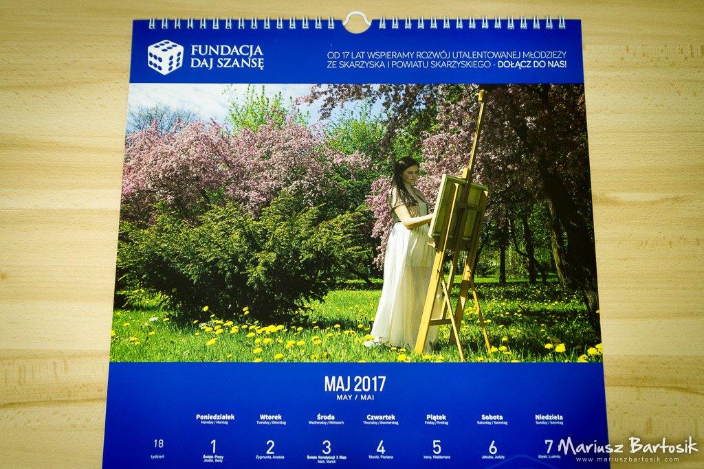 Daj Szansę Calendar 2017 May