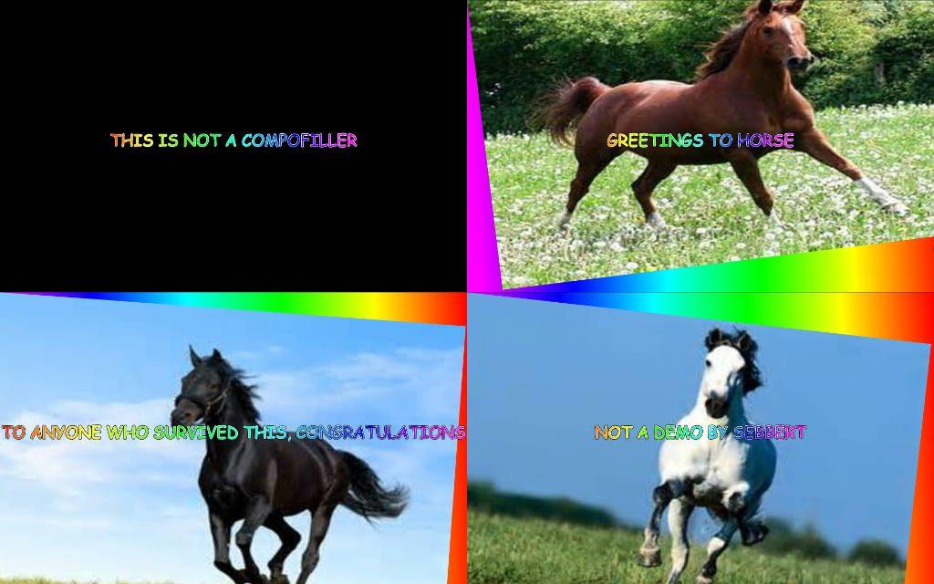 Not Horse by Sebbert