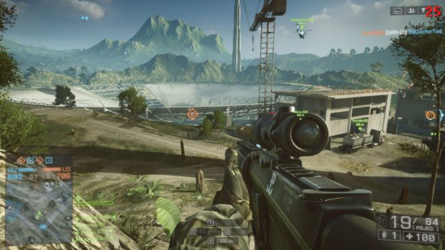 "Battlefield 4 - ""Rogue Transmission"" map, Conquest Large mode"