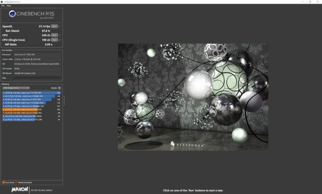 Maxon Cinebench Version R15