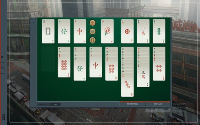 Chinese solitaire in Shenzhen I/O
